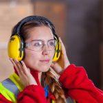 industrial mujer trabajadora