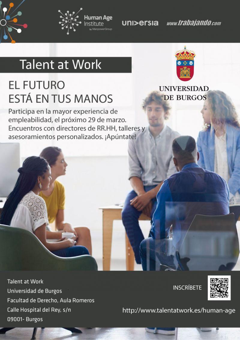 cartel talent  work ubu emprendedores