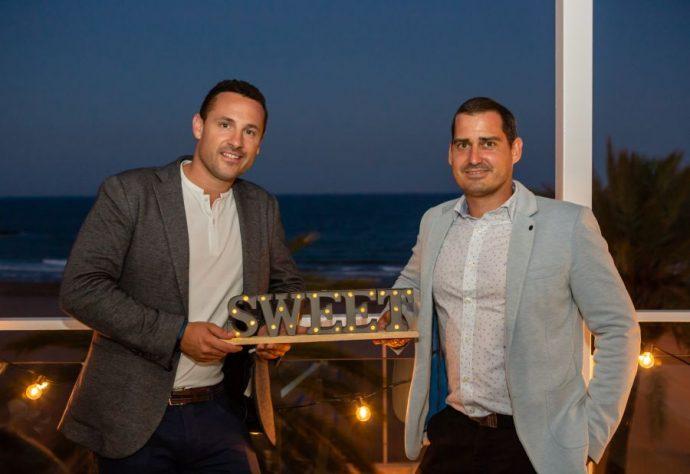 Emprendedores Luis Fernández y Sergio Navarro de Sweet Hoteles